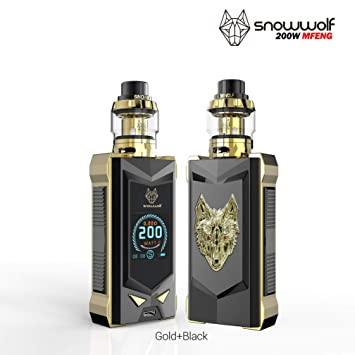 authentic snowwolf mfeng limited edition 200w tc box mod kit tpd