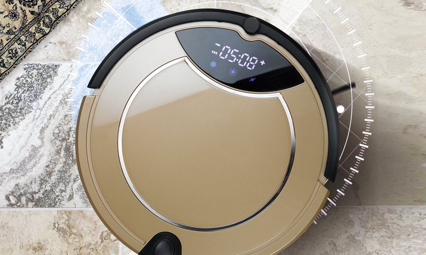 Robot Aspirador VR Golden Cleaner: Amazon.es: Hogar