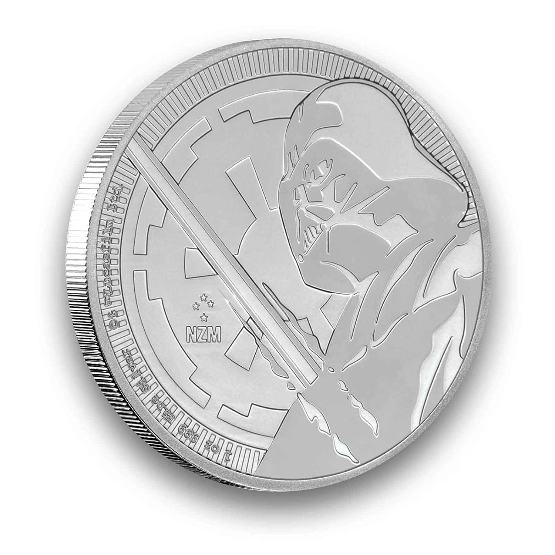 Darth Vader 2018 1 Unze Silberm/ünze STAR WARS/™ 1 oz Silber 999 in der M/ünzkapsel verpackt