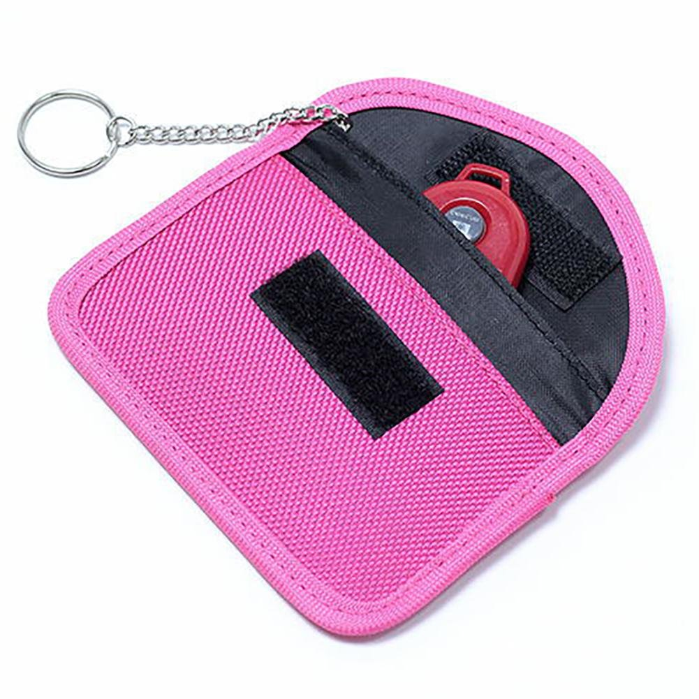 Car Key Signal Blocker Case Anti-Theft Car Key Bag for Honda Toyota BMW