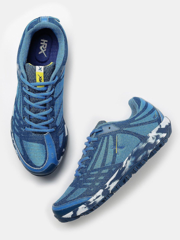 Hrithik Roshan Men Blue Running Shoes