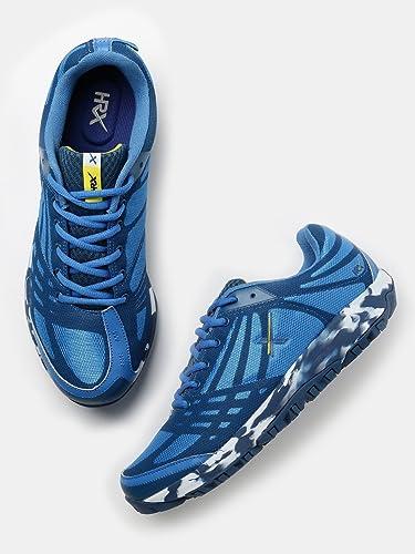 6da21d3b0 HRX by Hrithik Roshan Men Blue Running Shoes (10UK)  Buy Online at ...