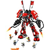 LEGO Ninjago Movie Fire Mech 70615 Building Kit (944 Piece)
