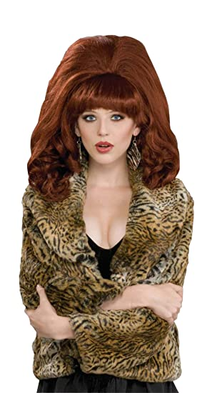 Forum Novelties Inc. Big Red Auburn Adult Wig Size One Size (peluca)