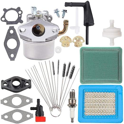 Dalom 798653 carburador + filtro de aire prelimpiador + ...