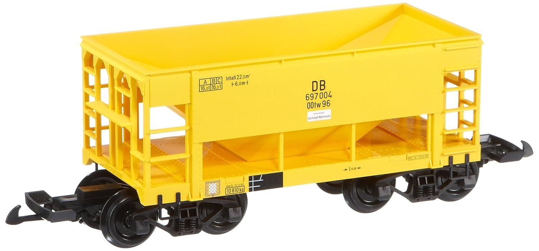 Piko 37802 - Vagón de mercancías DB Epoche III (tamaño de vía G), color amarillo