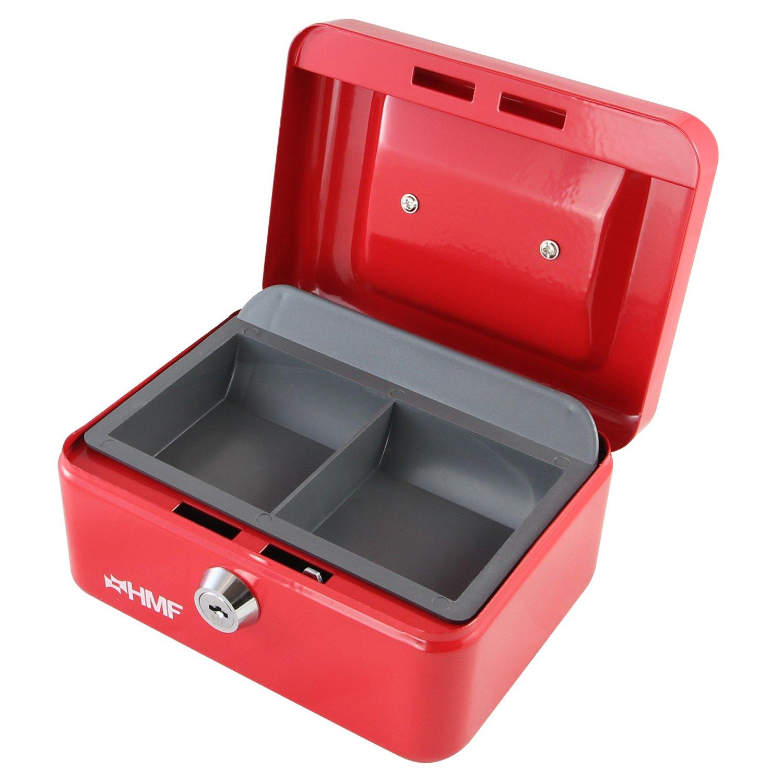Cash Box - Caja (150 x 110 x 75 mm), color negro HMF 102152