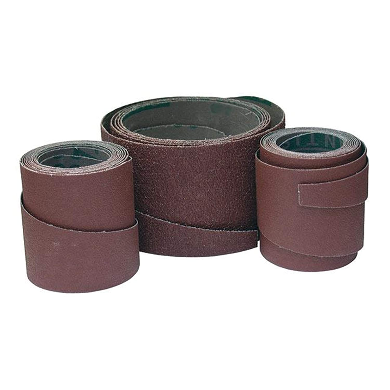 3 Pack SuperMax 100 Grit Pre-Cut Abrasive Wraps for 19-38 Sanders