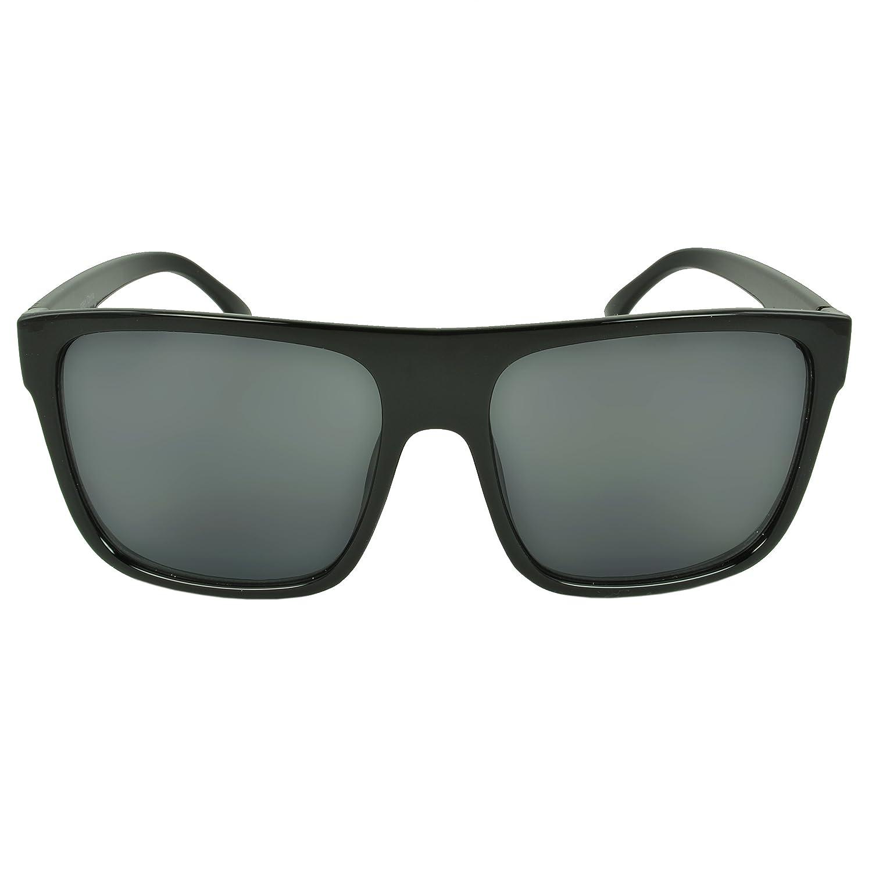 MLC Vintage Retro Eyewear Bluffwood Shield Fashion Sunglasses