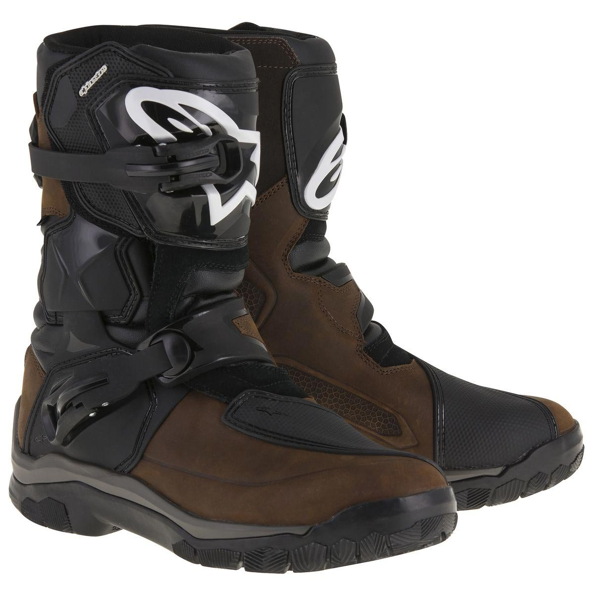 317d9d8069 80%OFF Alpinestars Belize Drystar Men's Street Motorcycle Boots - Brown  Oiled Leather / 11
