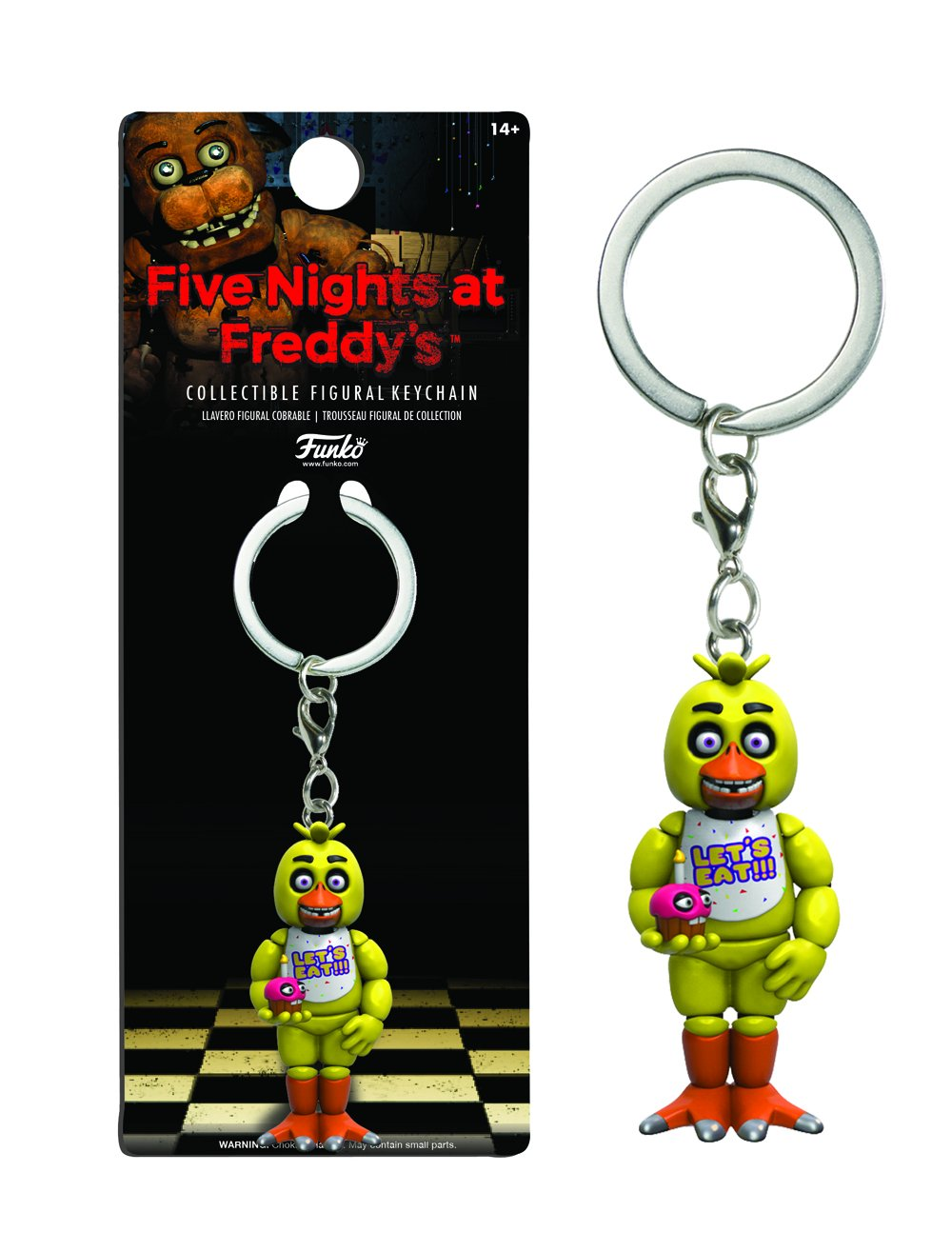 Funko Five Nights at Freddys Chica Keychain