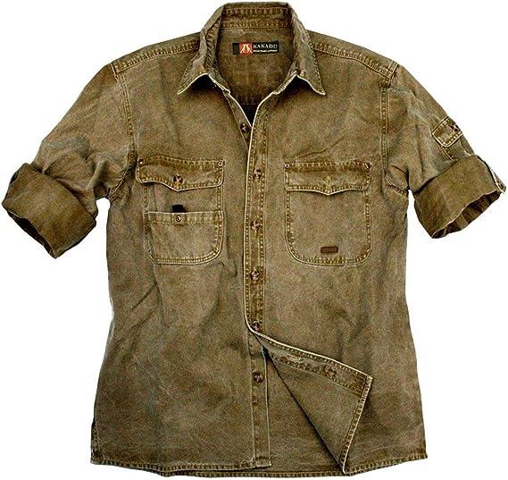 Kakadu Australia Toorak - Camisa para hombre caqui XS: Amazon.es: Ropa y accesorios