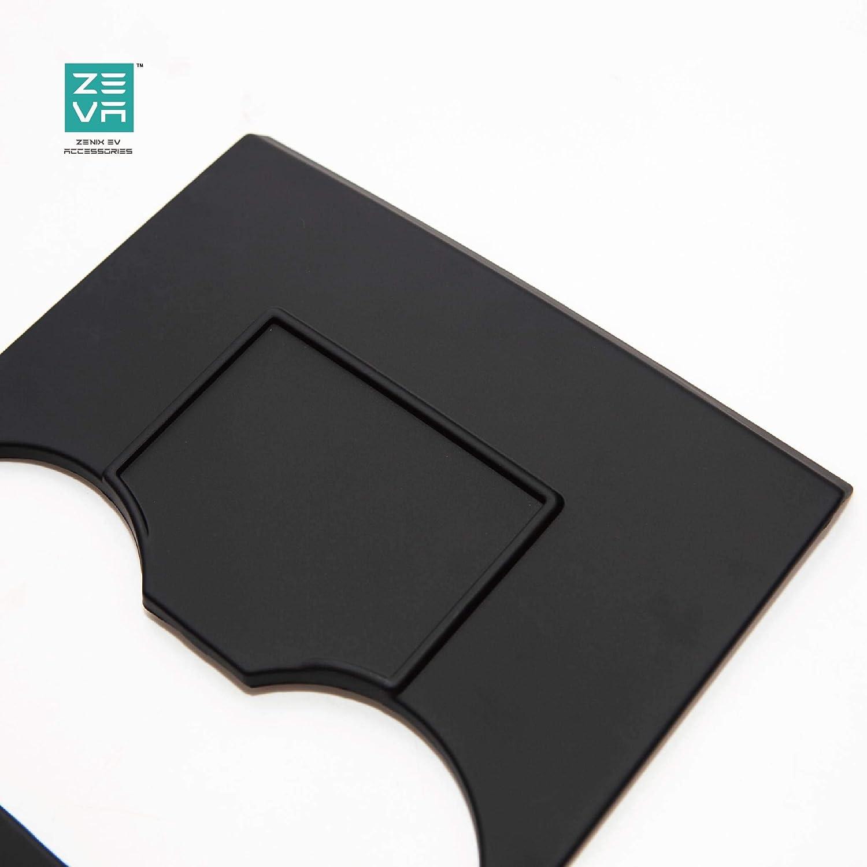 Matte Black ZENIX Tesla Model 3 Model Y Center Console Protector Cover|Wrap Kit|EV Accessoreis Premium Durable ABS Plastic|4 Pieces