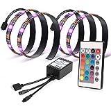 Kohree LEDテープライト テレビ PC照明 リモコン付き USB接続 疲れ目に効く カラフル 防水