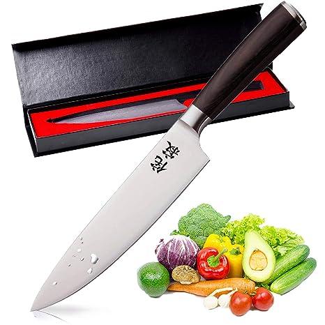 Amazon.com: Wabi×sabi cuchillo de cocina profesional de 8.0 ...