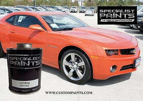 Amazon Com Chevrolet Inferno Orange Pint Kit Paint Code