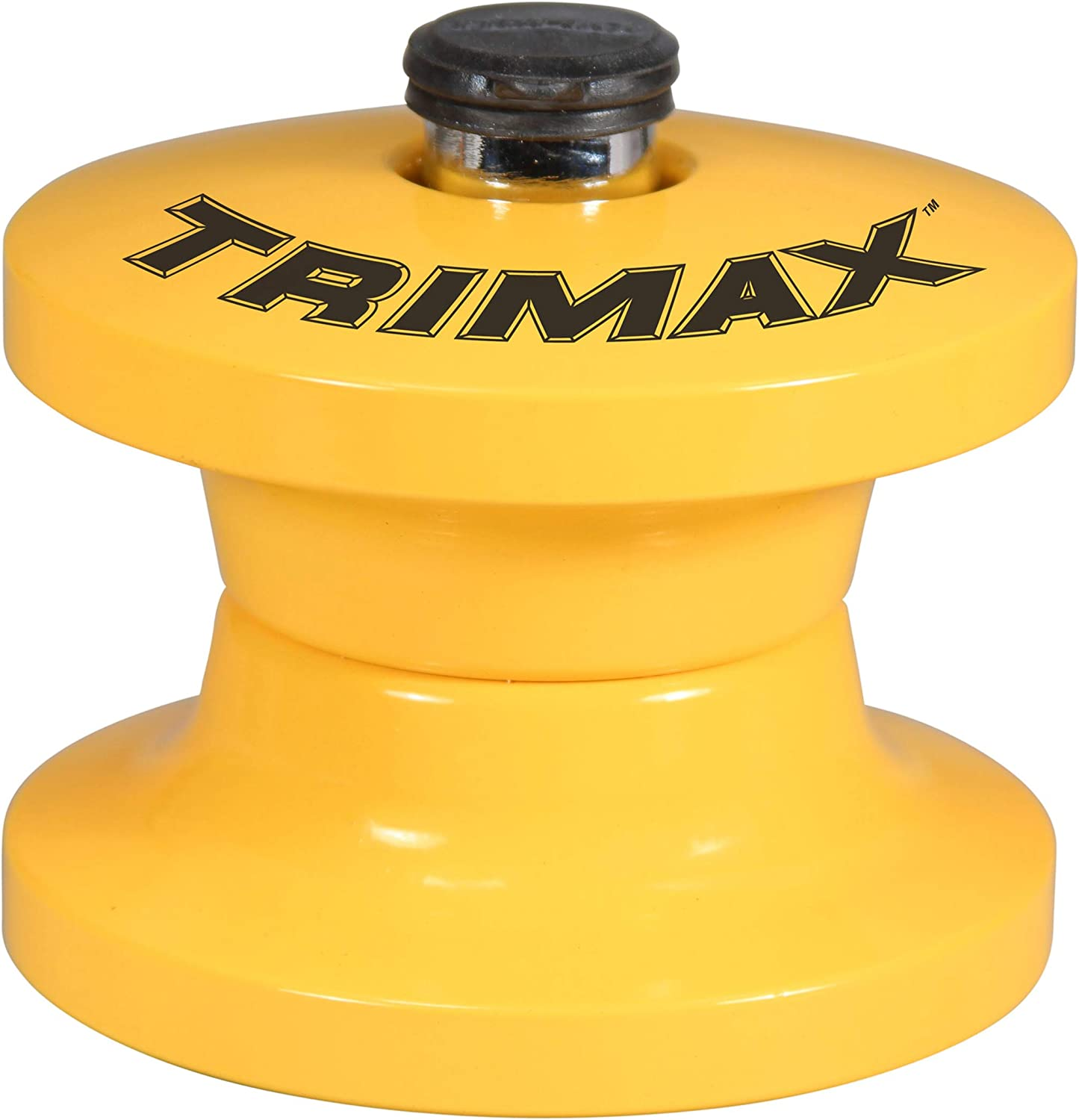2-7//8-Inch Inside Diameter Trimax TLR51 Lunette Tow Ring Lock for Unattended Pintle Hook Trailers