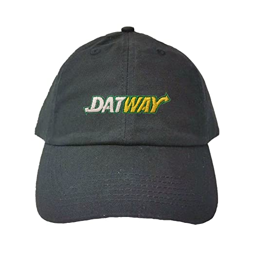 f69f6d5c Amazon.com: Go All Out Adjustable Black Adult Datway Embroidered Dad ...