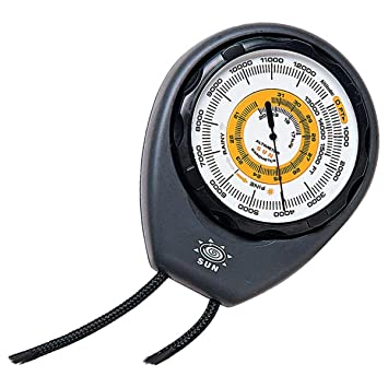 Amazon.com : Sun Altimeter and Barometer Includes Weather Trend ...