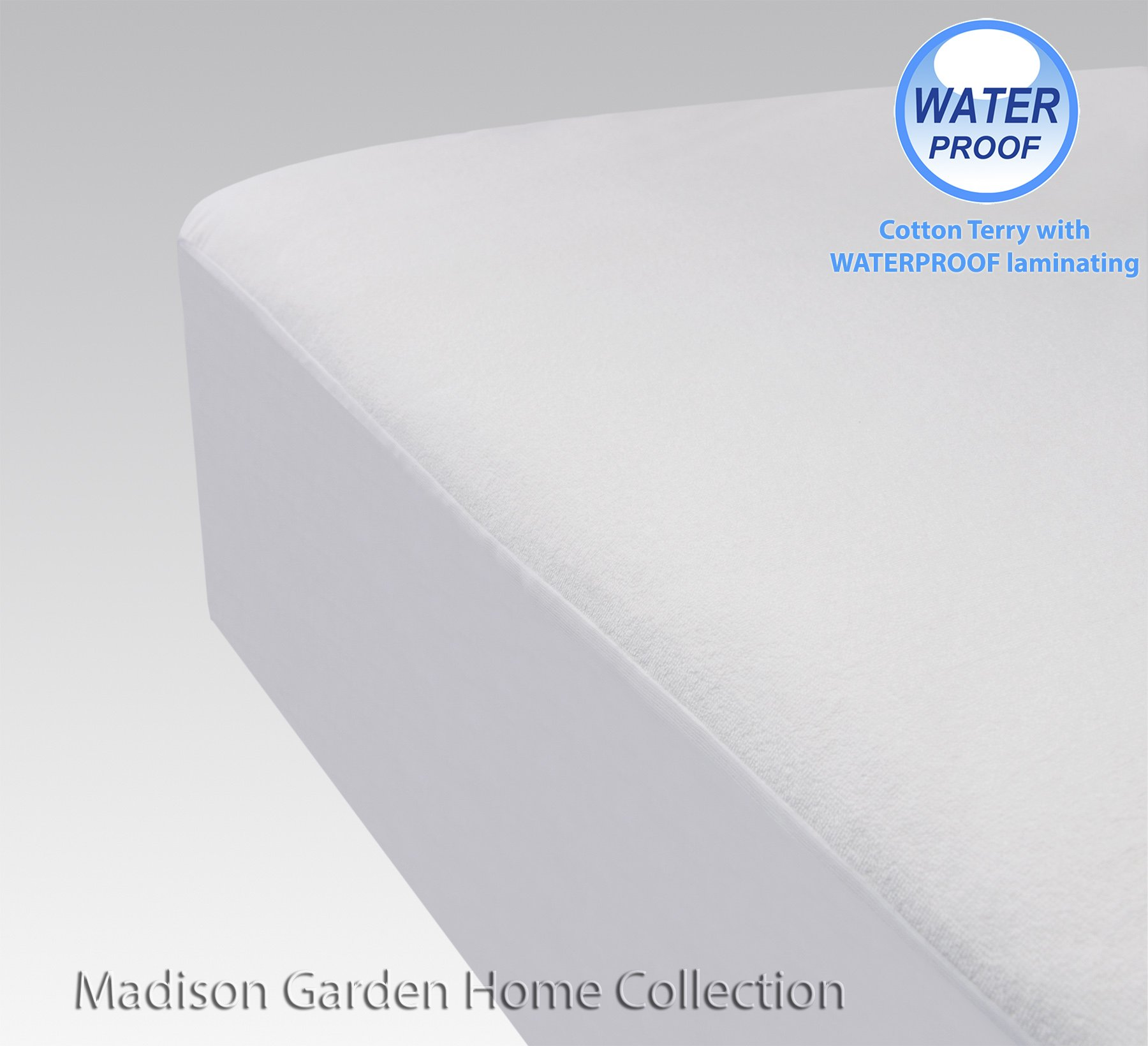 Cozy LandLuxury Premium Waterproof Cotton Terry Mattress Protector With Waterproof Liner, Allergy Barrier, Anti Dust Mites (Queen 60'' x 80'') CLEARANCE SALES by Cozy Land® (Image #1)