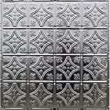 Metalceilingexpress 24x24-Inch Unfinished Nail-up Tin Ceiling Tiles #103 (5-Pieces)