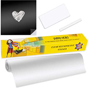 Clear Wall Protector Contact Paper - Transparent Backsplash Kitchen Oil Proof Waterproof Stickers Plastic Foil Heat Resistant Self Adhesive Removable Vinyl Film Furniture Scratch Wallpaper Dog Cat