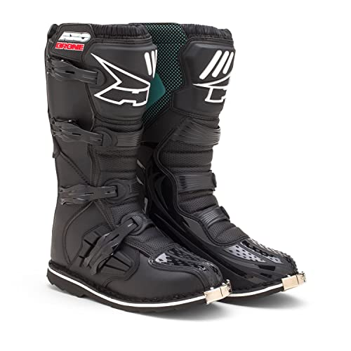 AXO Drone Boots (Black, Size 10)