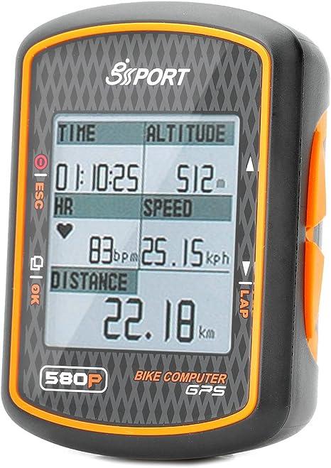 Resistente al agua GPS para bicicleta ordenador ciclismo velocímetro: Amazon.es: Deportes y aire libre