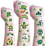 DmHirmg St Patricks Day Temporary Tattoos for Kids Boys Girls,Kids St Patricks Day Day Tattoos Sets, Waterproof Fake Tattoo S