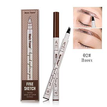 Amazon Com Tattoo Eyebrow Pen With Four Tips Diy Life Long