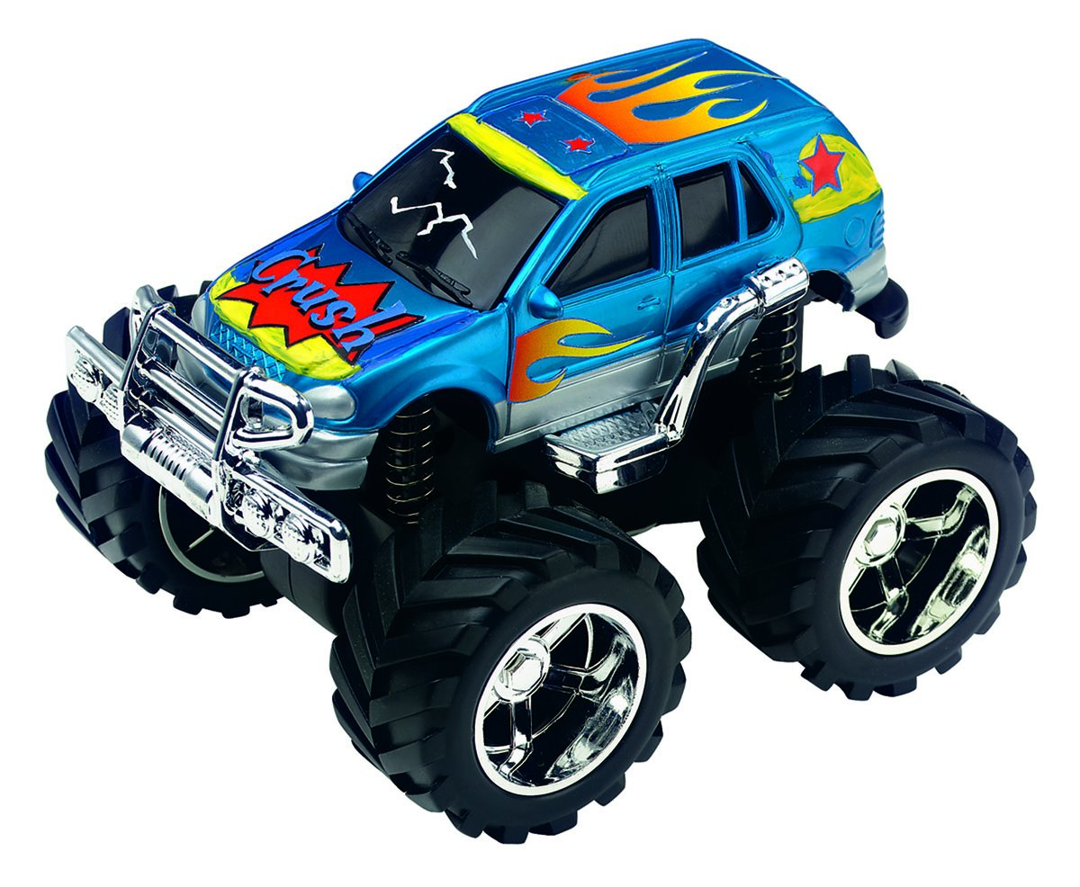 Amazon Com Creativity For Kids Monster Trucks Kit Custom Shop