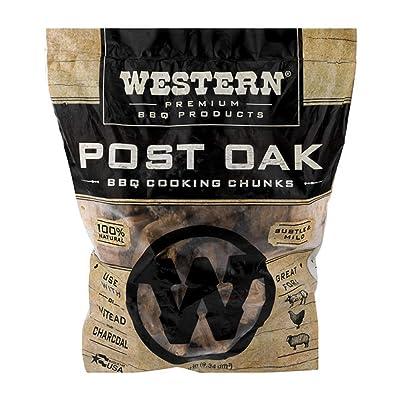Western Premium BBQ Products Post Oak BBQ Cooking Chunks