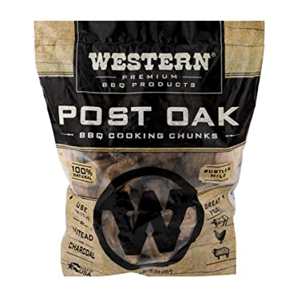 Western Premium Bbq Products Post Oak Bbq Cooking Chunks 570 Cu In