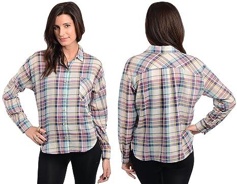Sexy plaid shirts
