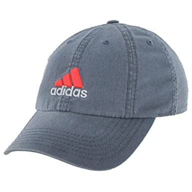 b9197095 adidas Men's Weekend Warrior Cap, Bold Onix/Solar Red, One Size ...