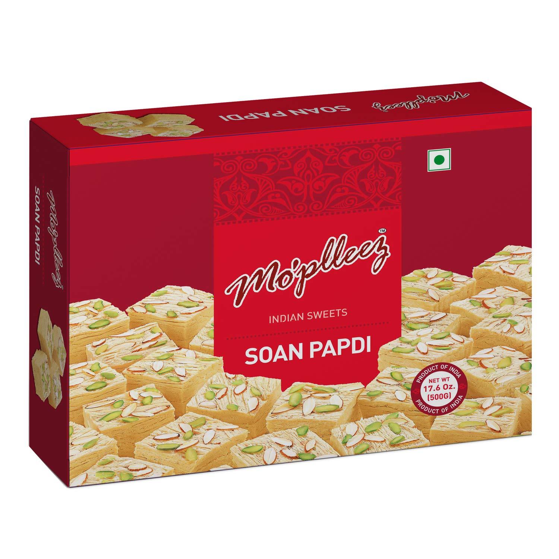 Moplleez Soan Papdi Indian Sweet (17.6oz/ 500gms)
