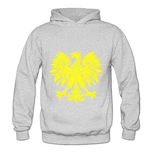 Lennakay Work Adult's Phoenix Hooded Sweatshirt With No Pocket Ash For Woman SizeXXL