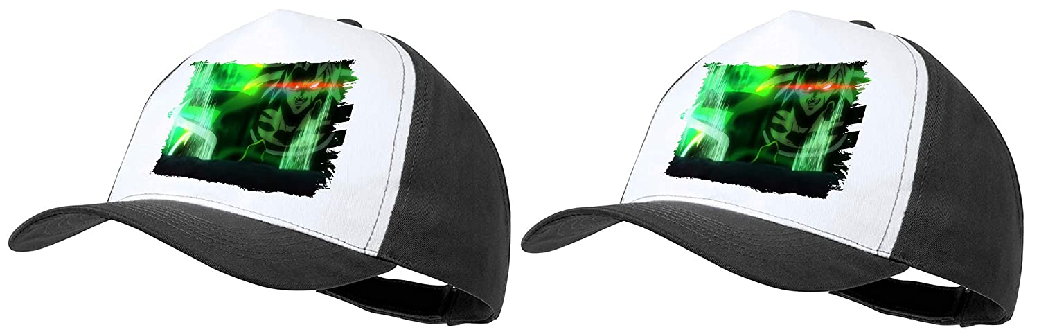 MERCHANDMANIA Pack 2 Gorras Negras Dragon Ball Super Broly FURIOSO Cap: Amazon.es: Deportes y aire libre