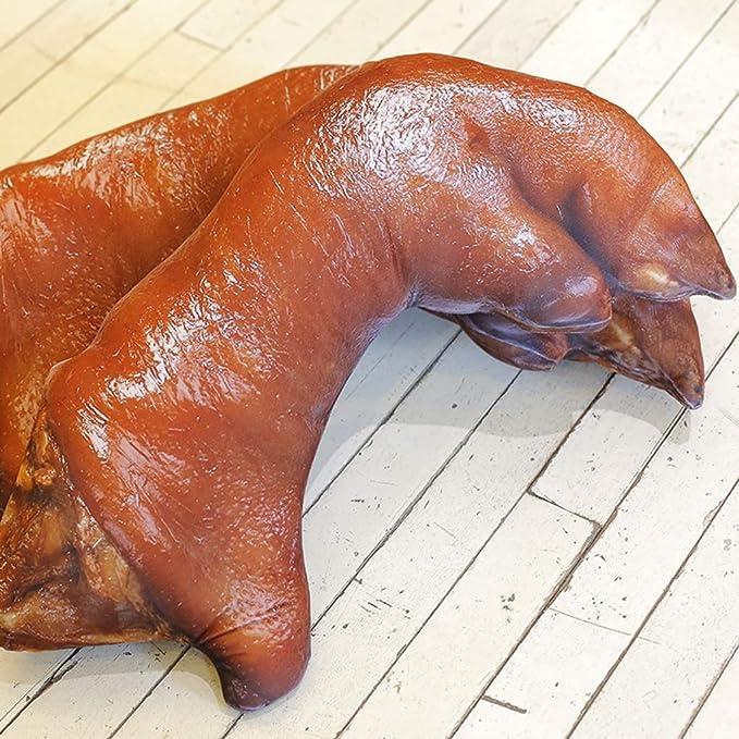 Gran cerdo pezuñas almohada divertido creativo almohada ...