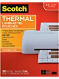 Scotch Thermal Pouches 5 mil, 8.9 x 11.4-Inches, 200/Pack