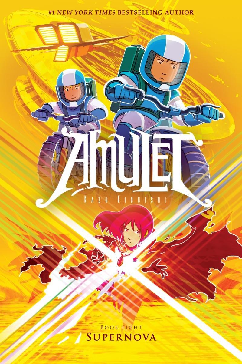 Amazon Supernova Amulet 8 9780545850025 Kazu Kibuishi Books
