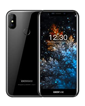 "Telefonos Moviles Libres 5.5"" 19:9 Notch IPS Display, DOOGEE X70 Dual Sim"