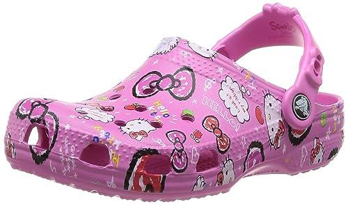 ccf6cedcd2edb Crocs Hello Kitty Good Times