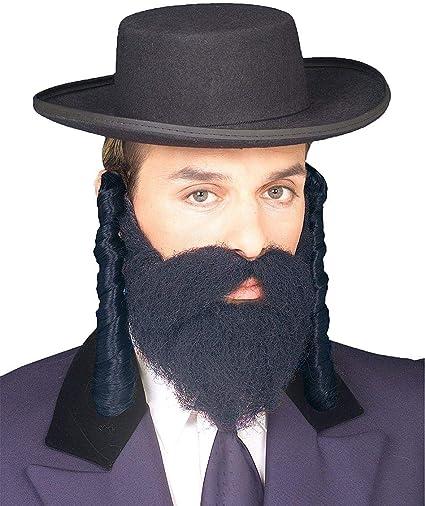Adult Black Rabbi Coat By Dress Up America