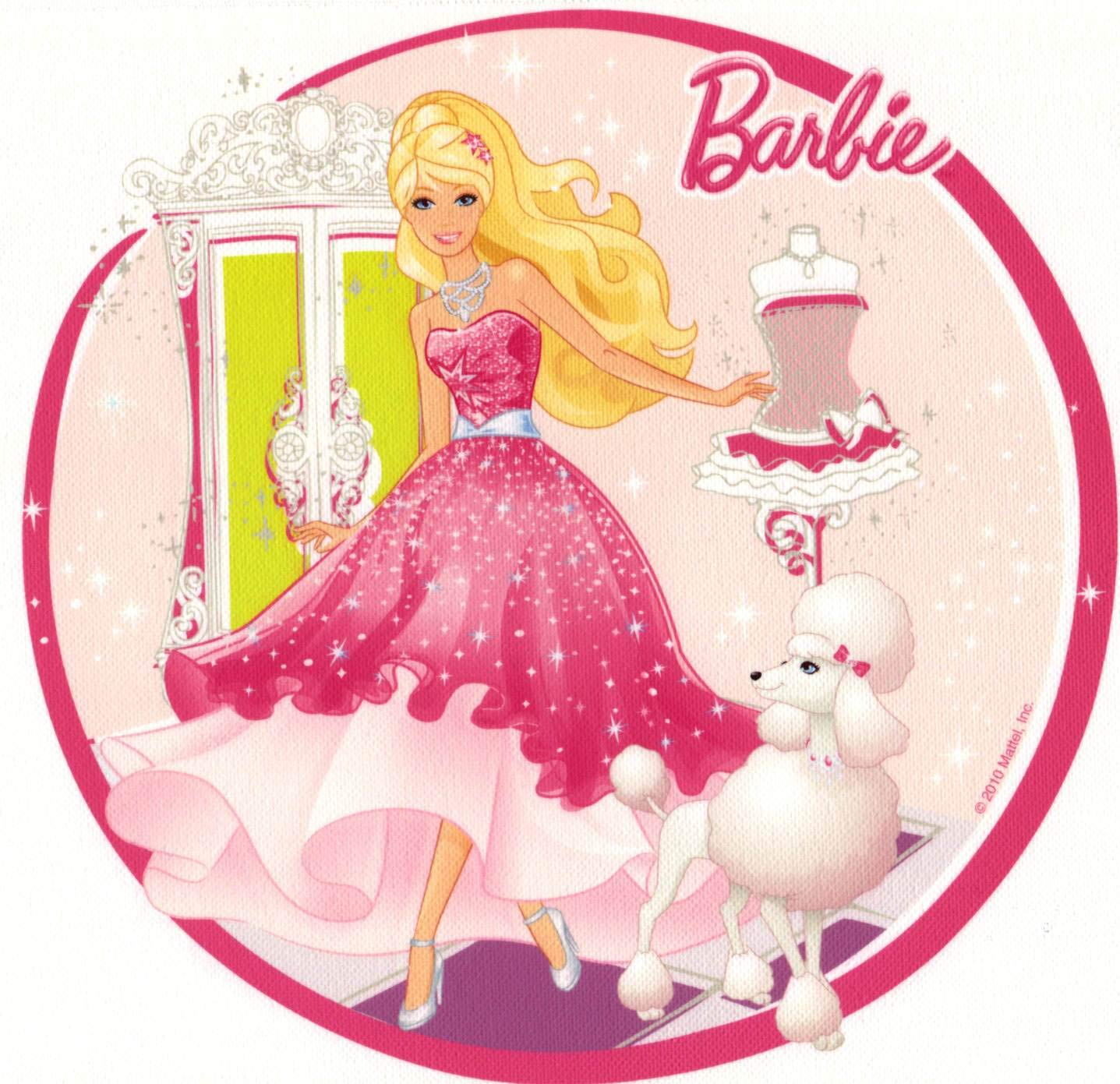 Barbie Doll American Edible Birthday Cake Image Topper Frosting Icing 1//4 Sheet