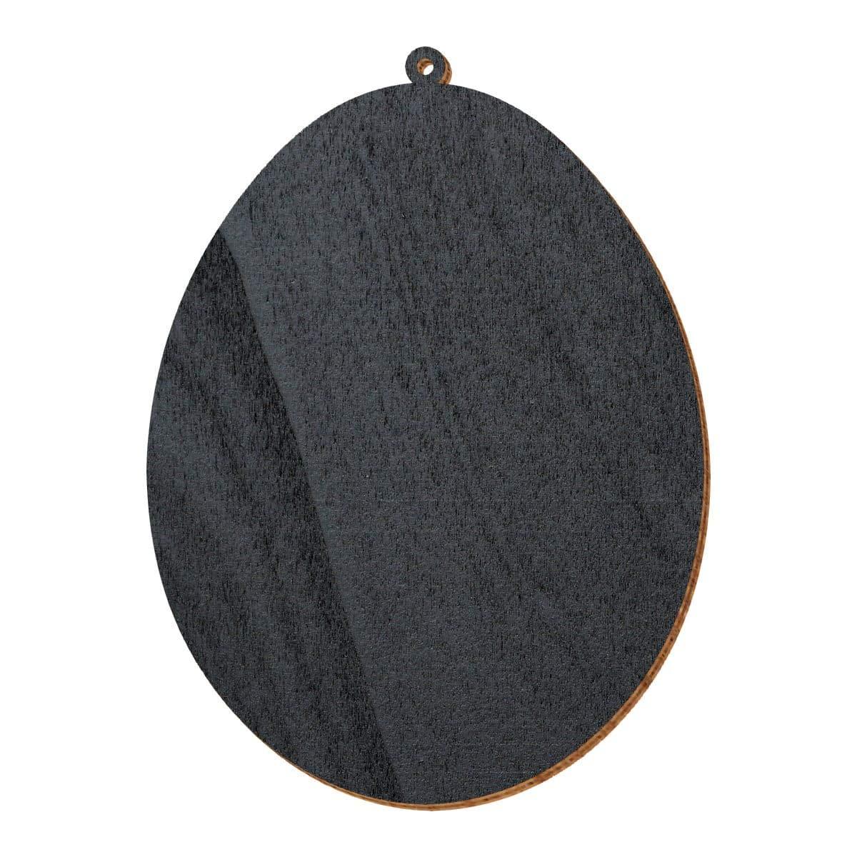Schwarze Holz Ostereier - 2-10cm 2-10cm 2-10cm Baum- Strauchbehang, Pack mit 50 Stück, Größe 9cm B07NDX1LSV | Gemäßigten Kosten  d930cf
