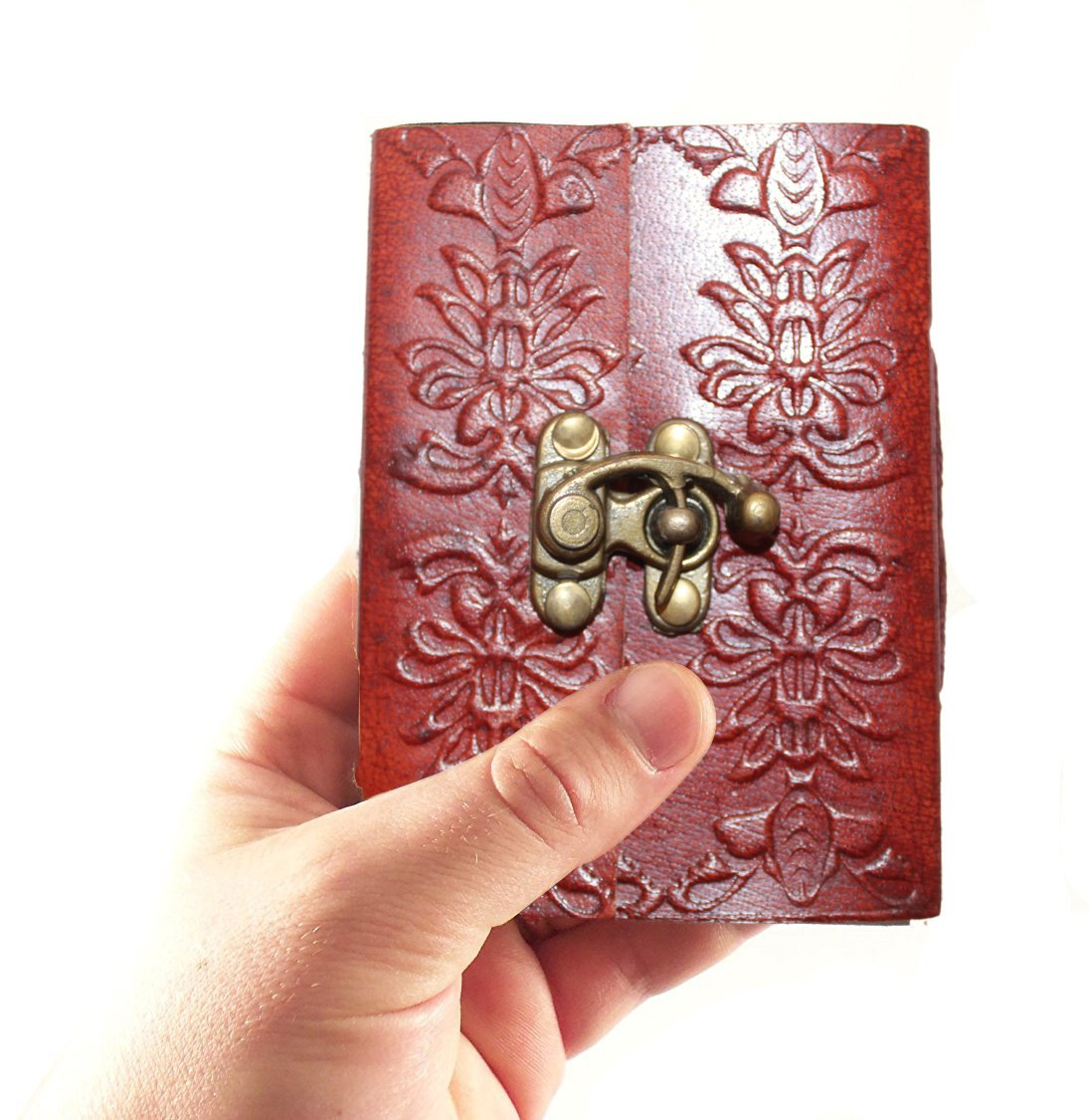 Second May Small Leather Journal Notebook Brown 4 Inches L 3 Inches W 1 Inch H Inches