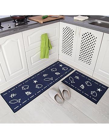 non slip kitchen rugs utility amazoncom kitchen rugs home