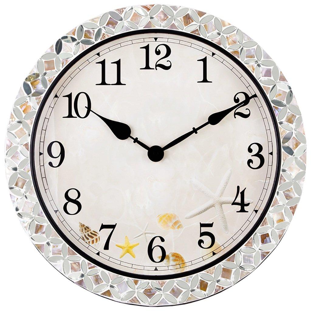 Unbekannt SESO UK- Modernes Design minimalistischen stumm Wanduhr kreative Quarzuhren Glocke 18 Zoll / 46 cm