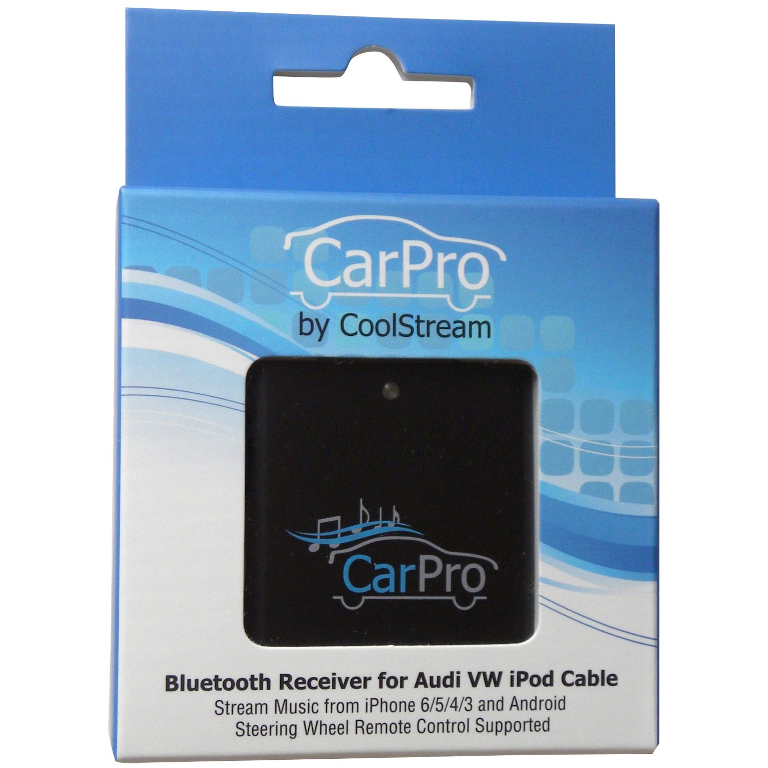CoolStream Bluetooth Adapter for Audi and Volkswagen iPod iPhone Ami Cable CarPro